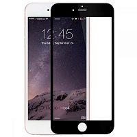 4D Glass iPhone 6 Plus Black