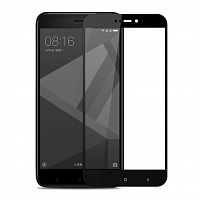 Стекло 3D Redmi 4X black